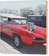 1966 Gto Monkeemobile Wood Print