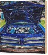 1966 Pontiac Bonneville Wood Print