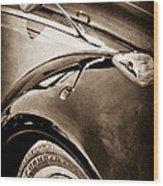 1966 Volkswagen Vw Wood Print