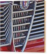 1967 Alfa Romeo Giulia Super Grille Emblem Wood Print