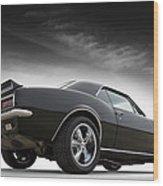 1967 Camaro Rs Wood Print