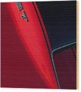 1967 Chevrolet Corvette 427 Emblem  Wood Print by Jill Reger