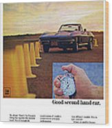 1967 Chevrolet Corvette Wood Print