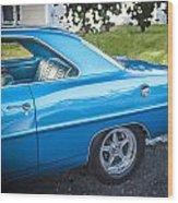 1967 Chevrolet Nova Super Sport  Wood Print