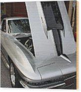 1967 Chevy Corvette Wood Print