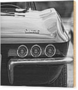 1967 Chevy Corvette Stingray Wood Print