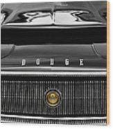 1967 Dodge Charger Wood Print