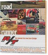1967 Dodge Coronet R/t Wood Print