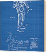 1967 Nasa Astronaut Ventilated Space Suit Patent Art 1 Wood Print