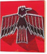 1967 Pontiac Firebird Emblem Wood Print