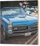 1967 Pontiac Gto Wood Print