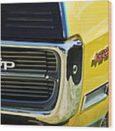 1967 Pontiac Hurst Grand Prix Convertible Grille Emblem -3569c Wood Print