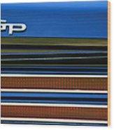 1967 Pontiac Hurst Grand Prix Convertible Taillight Emblem -3584c Wood Print
