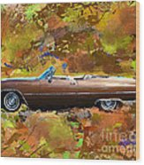 1968 Cadillac Deville Wood Print