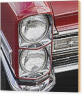 1968 Cadillac Deville You Looking At Me Wood Print