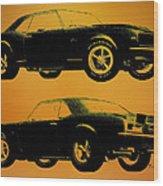 1968 Camaro Ss Side View Wood Print