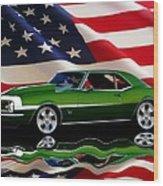 1968 Camaro Tribute Wood Print