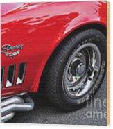 1968 Chevrolet Corvette Stingray Wood Print