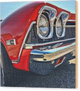 1968 Chevy Chevelle Ss 396 Wood Print