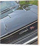 1968 Dodge Charger Wood Print
