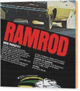 1968 Dodge Charger R/t - Ramrod Wood Print