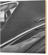 1968 Dodge Charger Rt Wood Print