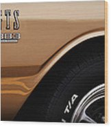 1968 Dodge Dart Gts 383 Four Barrel Wood Print