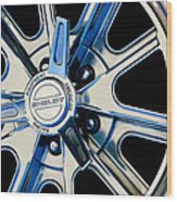 1968 Ford Mustang Fastback 427 Shelby Cobra Wheel Wood Print