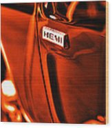 1968 Hemi Dodge Charger Wood Print