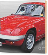 1968 Lotus - Elan S4 -  Full View Wood Print