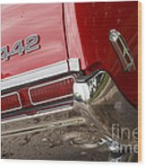 1968 Oldsmobile 442 Wood Print
