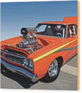 1968 Plymouth Road Runner Wood Print