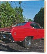 1969 Buick Gs Wood Print