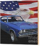 1969 Chevelle Tribute Wood Print