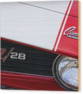 1969 Chevrolet Camaro Z28 Wood Print