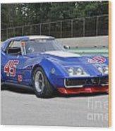 1969 Chevrolet Corvette Race Car Wood Print
