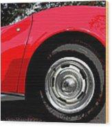 1969 Chevrolet Corvette Stingray - Vi Wood Print