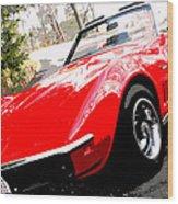 1969 Chevrolet Corvette Stingray - X Wood Print