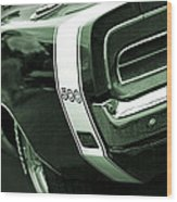 1969 Dodge Charger 500 Wood Print