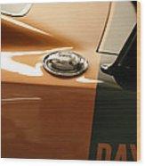 1969 Dodge Charger Daytona - Fuel Day Wood Print