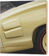 1969 Dodge Coronet R/t Convertible Wood Print