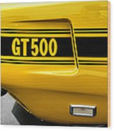 1969 Ford Shelby Mustang Gt500 Wood Print