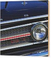 1969 Ford Torino Gt Wood Print
