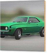 1969 L89 Camaro Wood Print