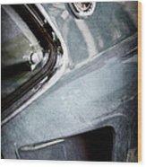 1969 Mustang Mach 1 Emblem Wood Print