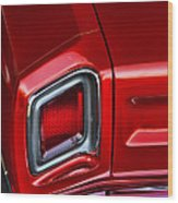 1969 Plymouth Road Runner Wood Print