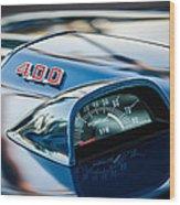1969 Pontiac 400 Firebird Convertible Guage -1105c Wood Print