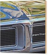 1969 Pontiac Firebird 400 Grille Wood Print