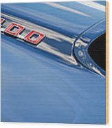 1969 Pontiac Firebird 400 Hood Wood Print