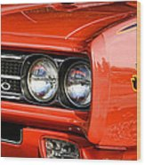 1969 Pontiac Gto The Judge Wood Print